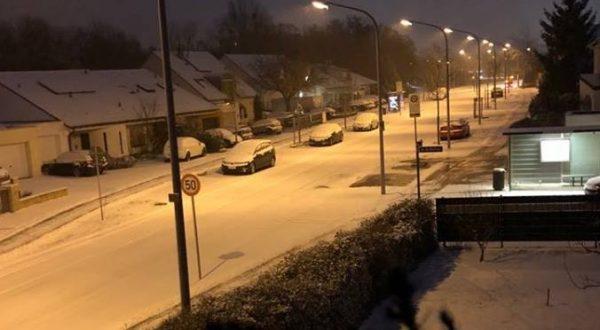 Ludwigshafen – Winterliche Verhältnisse in der gesamten Metropolregion Rhein-Neckar