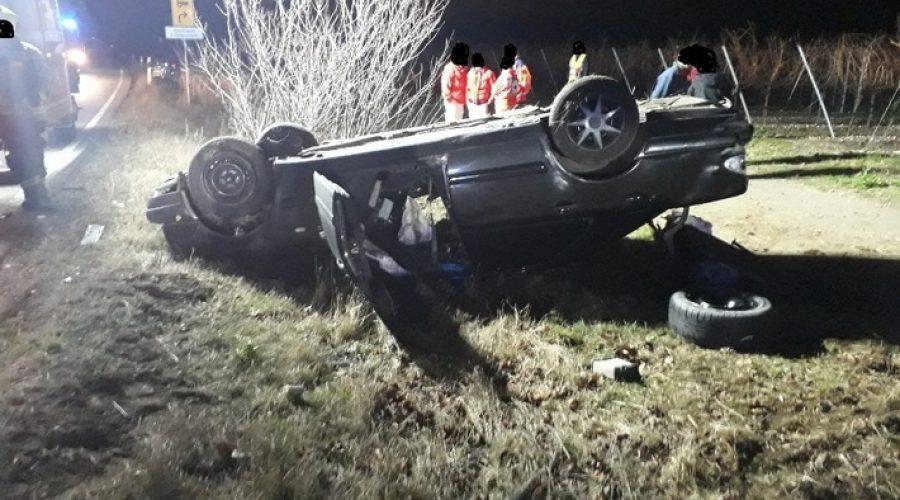 Bad Dürkheim – Unfall auf der #B37 mit 2 leichtverletzten und einem zu Fuß flüchtenden Fahrer