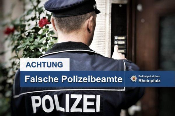 Böhl-Iggelheim – Falscher Polizeibeamter