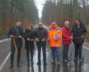Germersheim – #K16 zwischen Scheibenhardt und Büchelberg wieder frei für Autos und Radfahrer