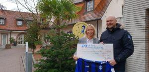 Mannheim – SV Waldhof sammelt 10.289,81 Euro für Sterntaler