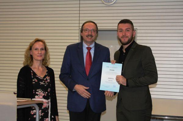 Ludwigshafen – Hochschule Ludwigshafen ehrt Serdar Ferhard mit dem Preis des Deutschen Akademischen Austauschdienstes