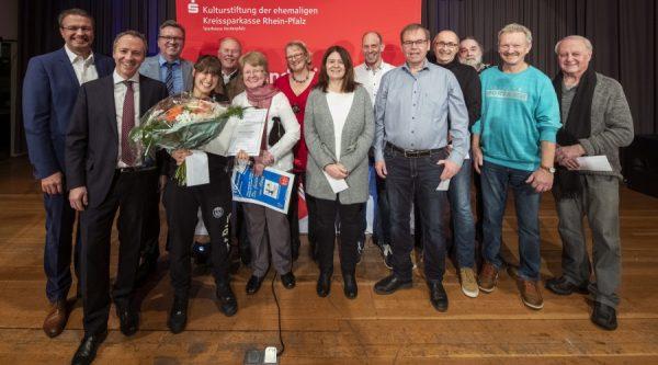 Rhein-Pfalz-Kreis – Sparkasse Vorderpfalz: Dany Lahdo mit Kulturförderpreis ausgezeichnet  – 10 Vereine und Projekte konnten sich über Spenden freuen