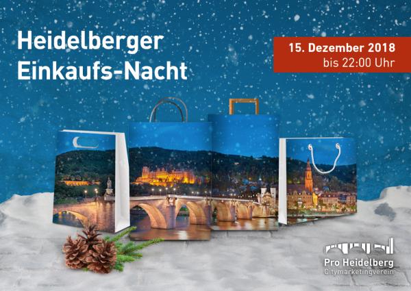 Heidelberg – Hin zur Heidelberger Einkaufs-Nacht am 15. Dezember