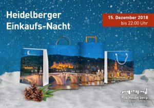 Heidelberg – Heidelberger Einzelhändler laden heute zur langen Einkaufsnacht bis 22.00 Uhr