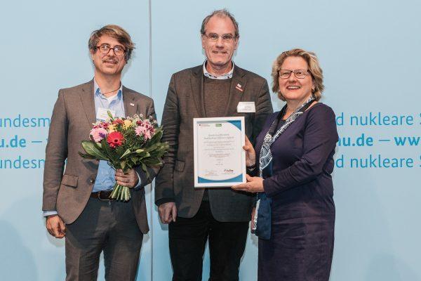 """Heidelberg – Bundesumweltministerium zeichnete Heidelberger Projekt """"Intelligente City-Logistik Altstadt"""" aus"""