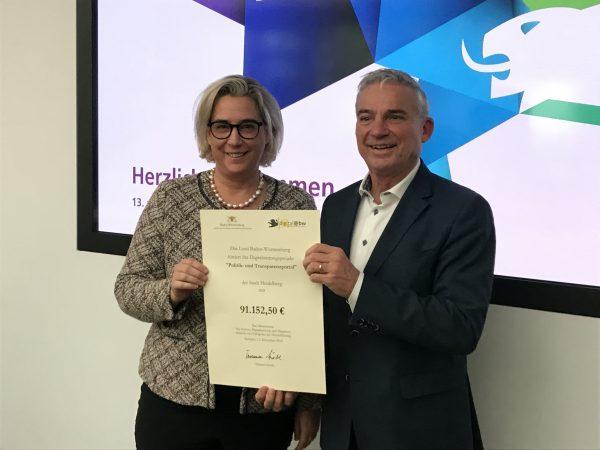 Heidelberg – Digitale Stadt: Heidelberg erhält Landesförderung für neues Portal in Höhe von rund 91.000 Euro! Kommunale Entscheidungsprozesse sollen für Bürger transparenter gemacht werden