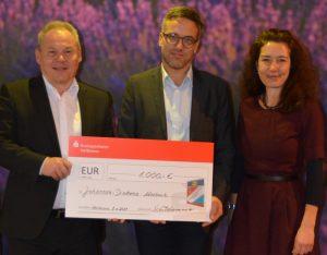 Mosbach – Kriminalpolizei spendet 1.000 Euro für Johannes-Diakonie