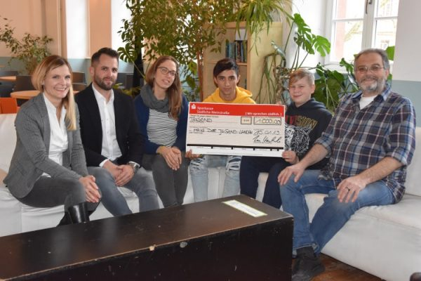 Landau – Software-Unternehmen AUVESY spendet 1.000 Euro an Landauer Jugendförderung