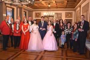 Landau – Ein dreifach donnerndes Galau – Landauer Stadtspitze empfängt Prinzenpaare der Landauer Karnevalsvereine