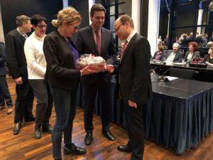 Frankenthal –  Bernd Knöppel  einstimmig zum neuen Bürgermeister gewählt