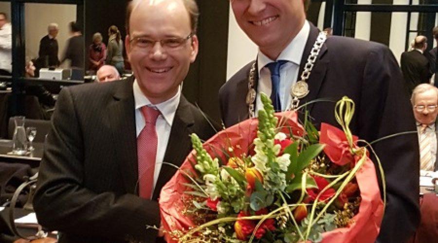 Frankenthal  – Bernd Knöppel ist neuer Frankenthaler Bürgermeister – OB Hebich gratuliert
