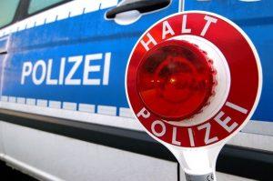 Altrip – Geschwindigkeitskontrolle der Polizei