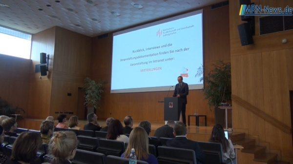 Ludwigshafen – Neujahrsempfang der Hochschule für Wirtschaft und Gesellschaft mit feierlicher Verabschiedung der Vizepräsidenten