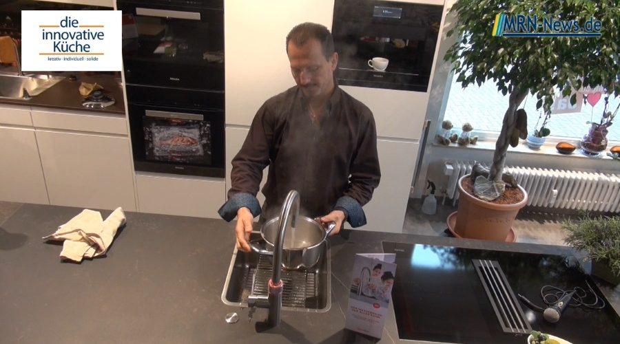 Ludwigshafen – Die innovative Küche präsentiert den Quooker Wasserhahn für Männer die gerne Kochen