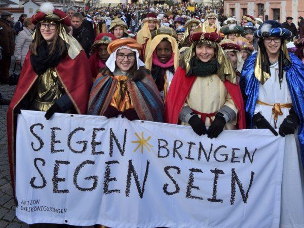 Speyer – Sternsinger sind in den Pfarreien des Bistums Speyer wieder unterwegs