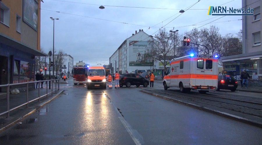 Ludwigshafen – Straßenbahnunfall in der Innenstadt