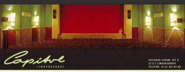 Rhein-Pfalz-Kreis – Kinoprogramm  ab Donnerstag, 10.01.2019 im CapitolLichtspieltheater Limburgerhof