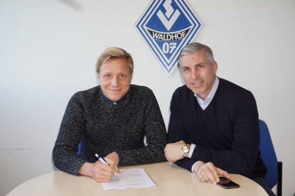 Mannheim – SV Waldhof:Diring verlängert bis 2021!