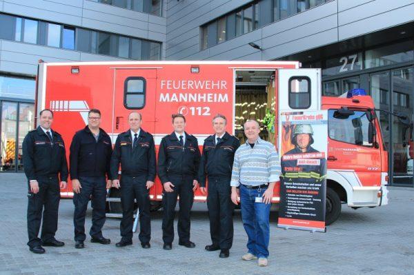 """Mannheim – Feuerwehr erhält """"Feuerkrebs Award"""""""