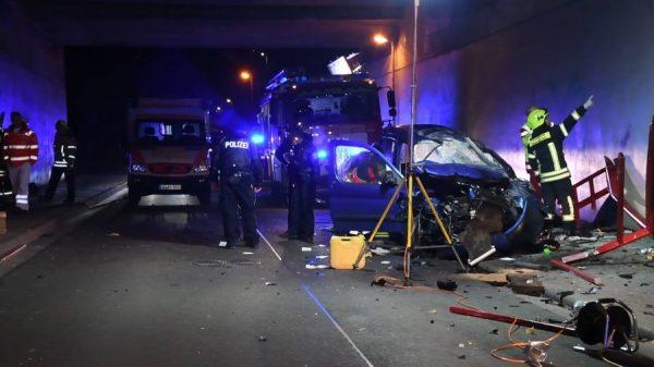 Frankenthal – -Erstmeldung- 30 jähriger stirbt bei Unfall  auf der #B9