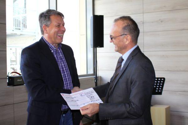 Wörth – IGS Wörth – Vorreiter in Sachen Klimaschutz Landrat überreicht 1000 Euro als Anerkennung