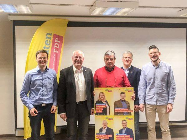 Rhein-Pfalz-Kreis – Vorstandswahlen bei der FDP Limburgerhof