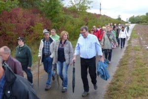"""Rhein-Pfalz-Kreis – Landräte und Bürgermeister überschreiten Grenzen –  Wanderung unter dem Motto """"Darum Europa!"""" am 18. Mai 2019"""