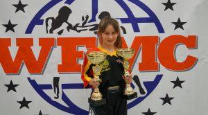 Frankenthal / Leverkusen – Emilia Tischer aus Freinsheim wird zweifache deutsche Meisterin im Kickboxen