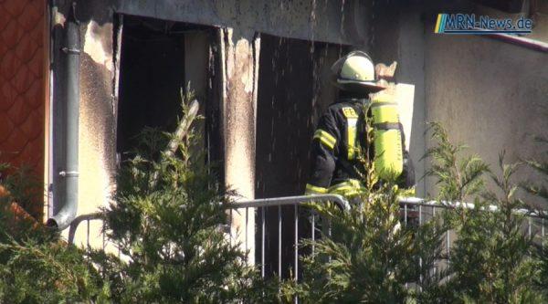 Ludwigshafen – Video Wohnhausbrand in der Dhauner Straße