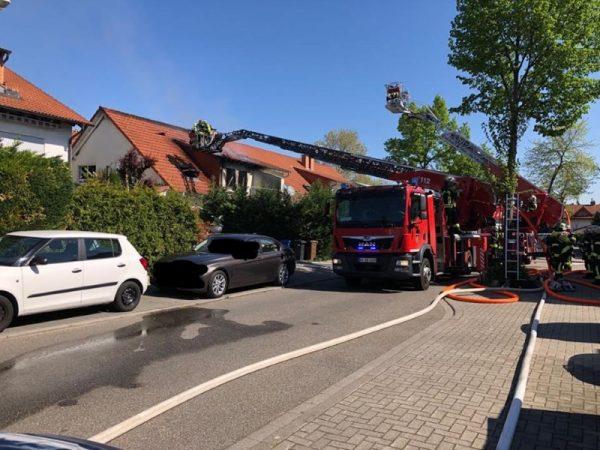 Ludwigshafen – Erstmeldung – Wohnungsbrand in der Dhauner Straße