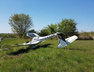 Worms – Absturz eines einmotorigen Leichtflugzeuges im Rahmen eines Schulfluges