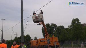 Ludwigshafen – VIDEO – Aktuelles von Brunckstraße – RNV setzt weiter Schienenersatzverkehr ein – Reparaturarbeiten dauern bis mindestens morgen