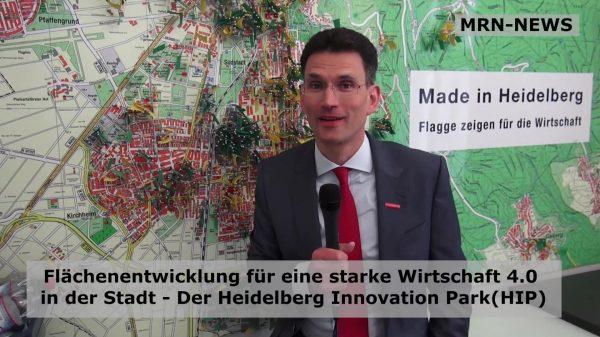 Heidelberg – Flächenförderung für eine starke Wirtschaft 4.0 – Der Heidelberg Innovation Park(HIP)