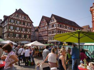 Mosbach – Mosbacher Marktplatz verwandelt sich am 4. Mai in ein Blütenmeer
