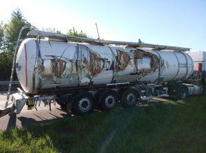 Rülzheim – Ruhezeiten auf dem Seitenstreifen führen zu Unfall auf der #B9