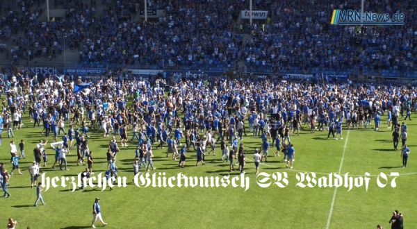 Mannheim – Video – SV Waldhof 07 Aufstieg 3.Liga