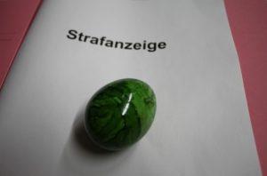 Ludwigshafen – Osternest voller Strafanzeigen für 34-jährige Ludwigshafenerin