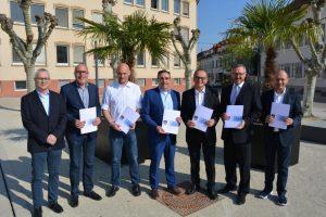 Germersheim – Gelungenes Beispiel guter Zusammenarbeit – Gemeinsame Zweckvereinbarung des Landkreises mit dem kreisangehörigen Raum für den Vollstreckungsbereich aktualisiert und unterzeichnet