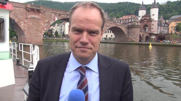 """Heidelberg – """"Stadt an den Fluss"""": Planung für Neckarpromenade mit Radhauptroute wird vertieft! Oberbürgermeister Prof. Dr. Eckart Würzner freut sich: """"Tolle Nachricht für die gesamte Stadt!"""""""