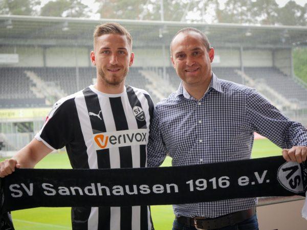 Sandhausen – SVS verpflichtet Robin Scheu