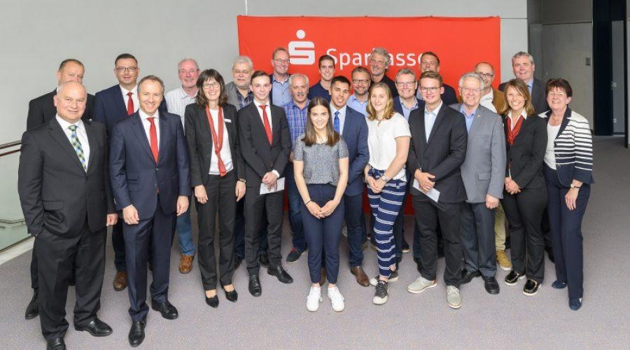 Ludwigshafen –  Sparkasse Vorderpfalz – Sparkassenstiftungen unterstützen Sport und Kultur im Rhein-Pfalz-Kreis