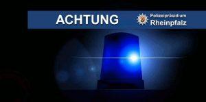 Lingenfeld – Polizeibeamter nach Verfolgungsfahrt verletzt