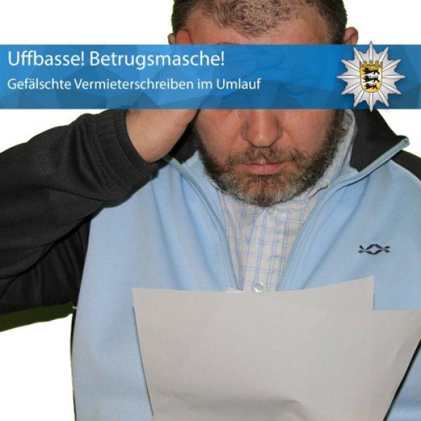 Heidelberg – Gefälschte Vermieterschreiben im Umlauf- Betrugsmasche, weitere Geschädigte gesucht!