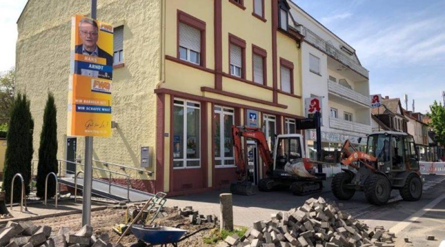 Ludwigshafen – Umleitung wegen Bauarbeiten an der Haltestelle Marienkrankenhaus wird verlängert