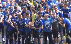 Mannheim – Video von der Meisterehrung SV Waldhof Mannheim – Regionalligameister 2018/19