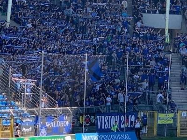Mannheim – Marco Schuster( SV Waldhof) über das Pokalfinale gegen den Karlsruher SC