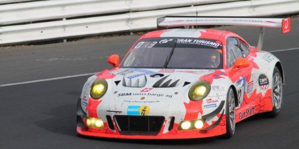 Ludwigshafen – Porsche-Pilot Otto Klohs aus Ludwigshafen geht beim 24 Stunden-Rennen auf dem Nürburgring an den Start
