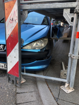 Landau – Verkehrsunfall mit geflüchtetem Radfahrer