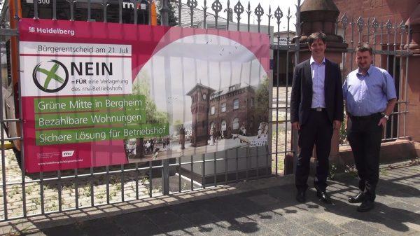Heidelberg – Betriebshofverlagerung: Keine Standortalternativen für den Großen Ochsenkopf! Klimaschutz-Argumente von Erster Bürgermeister Jürgen Odszuck